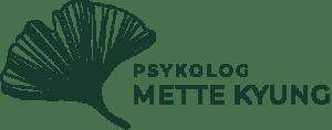 Ginko bilboa blad - Logo for Psykolog Mette Kyung